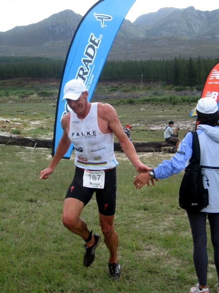 Conrad Stoltz Xterra South Africa finish