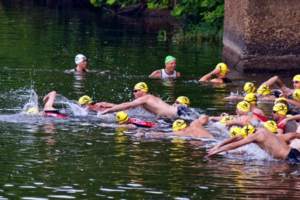 Xterra Richmond 2008 swim start