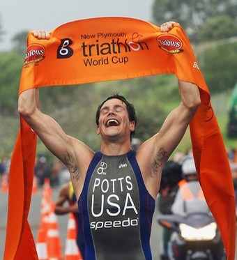 Andy Potts triathlete