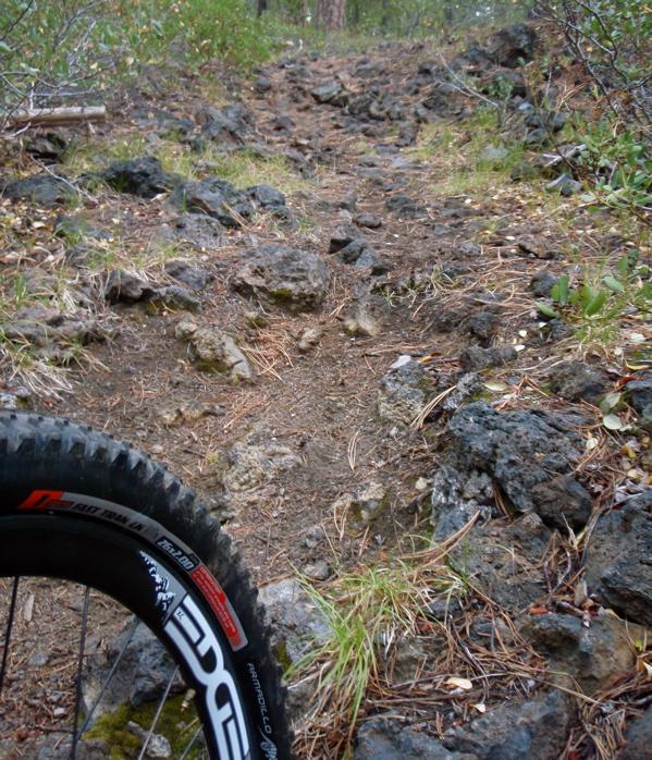 tire testing lava fields