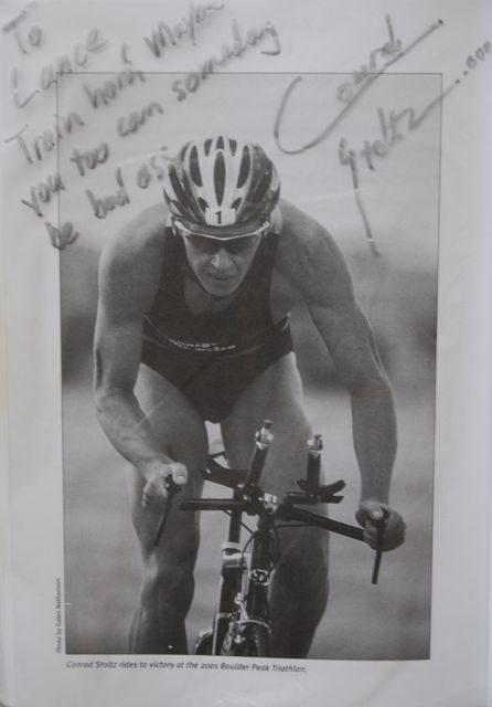 Conrad Stoltz message to Lance Armstrong