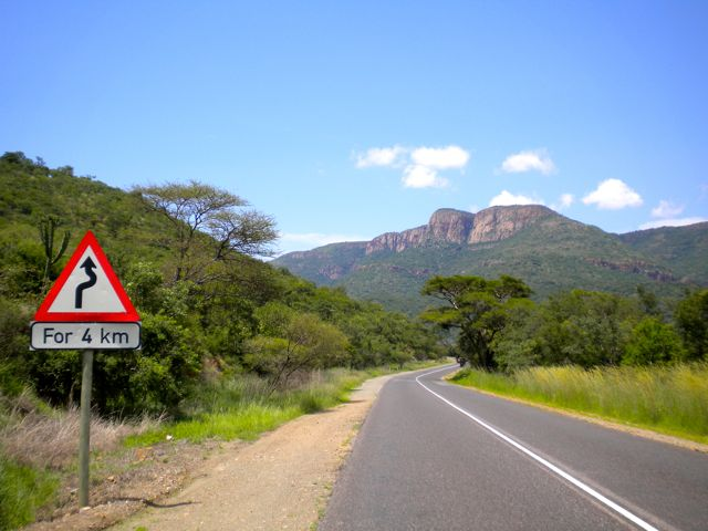 Conrad Stoltz South Africa training roads