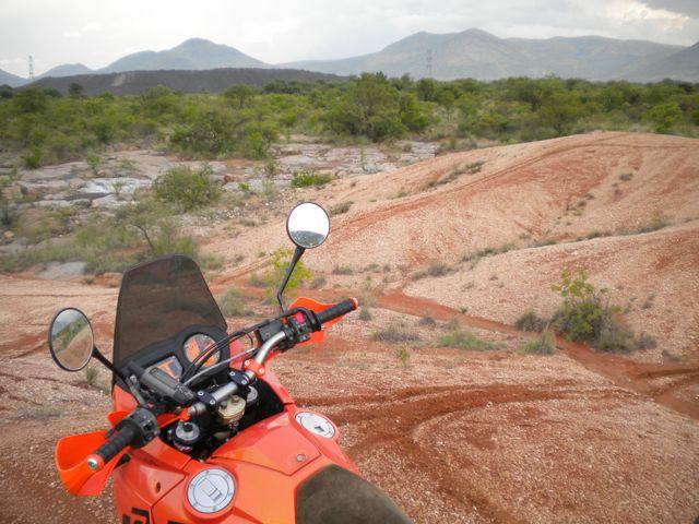 Conrad Stoltz South Africa training KTM 950
