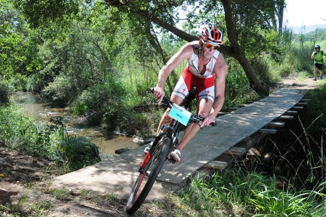 Conrad Stoltz XTERRA buffelspoort Specialized Jetline Action foto