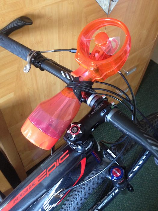 Conrad Stoltz Specialized Epic World Cup Air conditioner