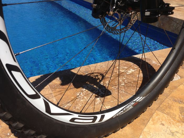 Conrad Stoltz Specialized Sworks Epic World Cup WC 2014 Roval Controle, Brain fork, Ground Control 2.3