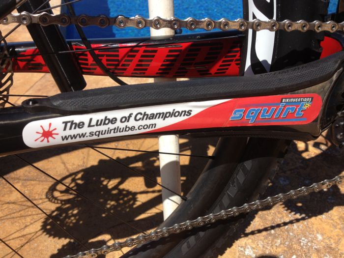 Conrad Stoltz Specialized Sworks Epic World Cup WC 2014 Squirt lube Clif bar Qring QX1 Rotor