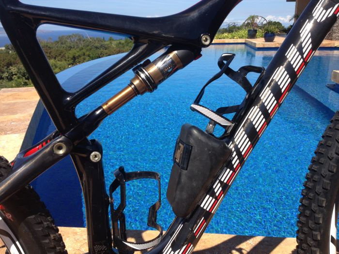 Conrad Stoltz Specialized Sworks Epic World Cup WC 2014 Squirt lube Clif bar.