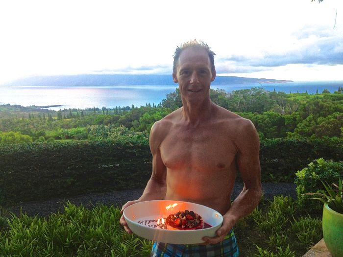 Conrad Stoltz 40th birthday Maui