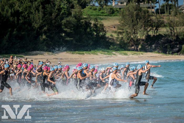 Conrad Stoltz Caveman XTERRA Worlds Kapalua swim start
