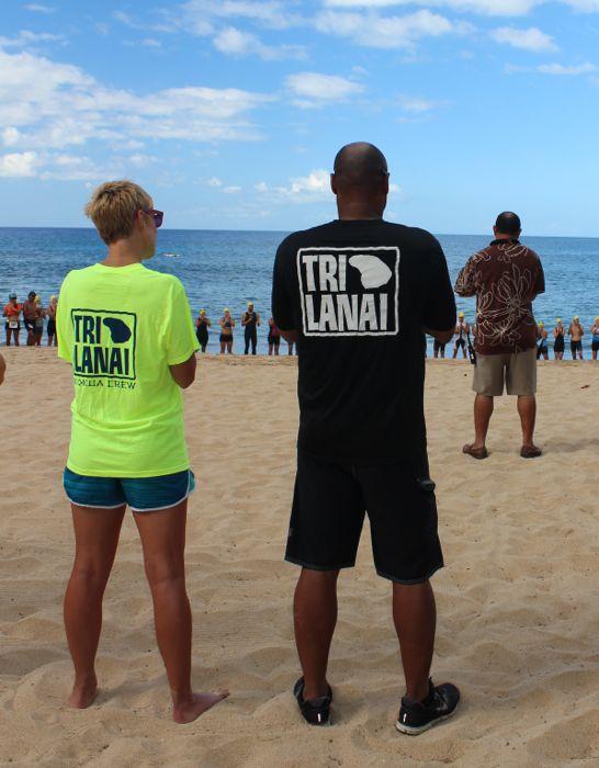 Conrad Stoltz TriLanai Todd Winston beach start