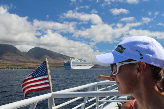 LIezel Stoltz TriLanai Lanai ferry