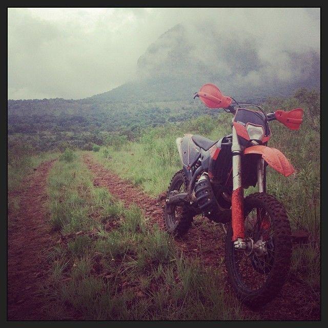 Conrad Stoltz Caveman KTM 300 Enduro dirt bike