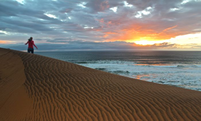 Conrad Stoltz Liezel Stoltz South Africa West Coast dune sunset