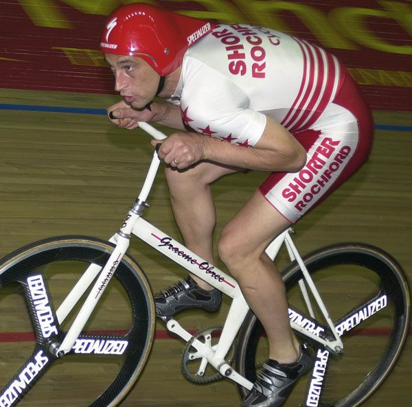 Graeme Obree Egg position Specialized Conrad Stoltz