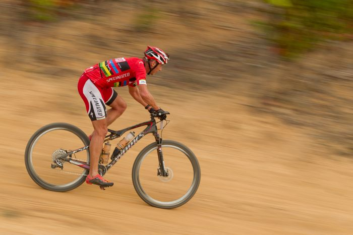 Conrad Stoltz Caveman Specialized Sworks Epic WC PicknPayCapeArgusMTBChallenge2014 GregBeadle