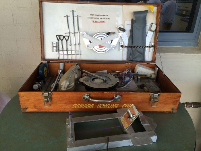 Conrad Stoltz Caveman XTERRA Asia Pacific Champs Australia Lawn bowls measuring instruments