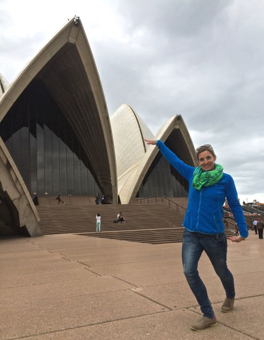 LIezel Conrad Stoltz Caveman Sydney opera house ballet