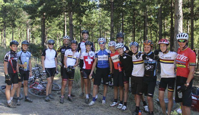 Conrad Stoltz Caveman MTB Skills Clinic Mountain bike skills Specialized  Paul Roos MTB team