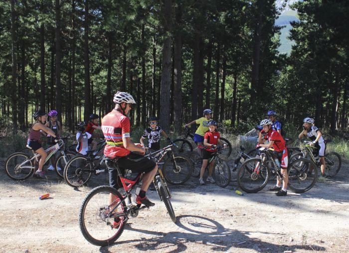 Conrad Stoltz Caveman MTB Skills clinic Talking bikes