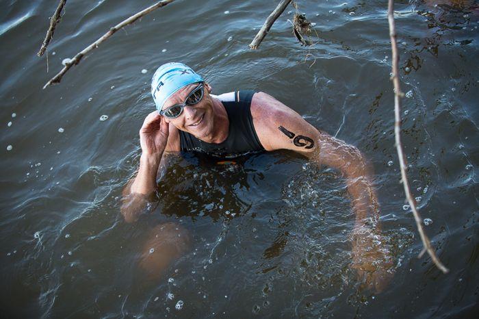 Conrad Stoltz Caveman XTERRA Richmond Luckstone RVA swim Blueseventy