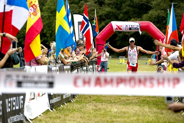 Conrad Stoltz Caveman XTERRA UK finish
