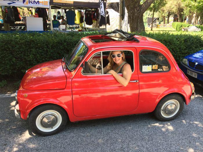 Liezel Stoltz #PrincessHotstuff Fiat 500