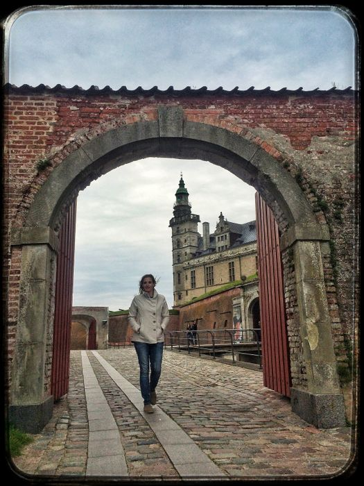 Conrad Stoltz Caveman XTERRA Denmark KronBurg Castle PrincessHotstuff, Liezel Stoltz, bridge