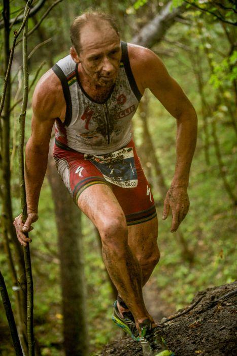Conrad Stoltz Caveman XTERRA Denmark Specialized, Suunto, Hoka, ClifBar muddy hill 3