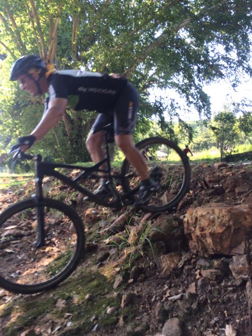 Conrad Stoltz Caveman Skills Clinic Anton drop off