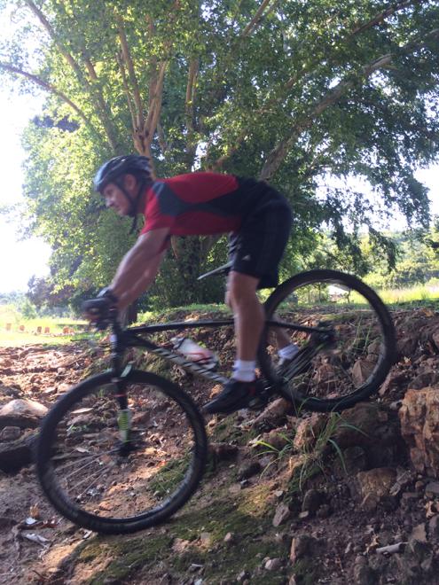 Conrad Stoltz Caveman Skills Clinic Jos drop off