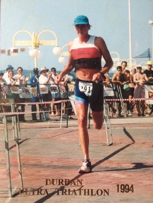 Conrad Stoltz Caveman Durban Ultra Triathlon 1994