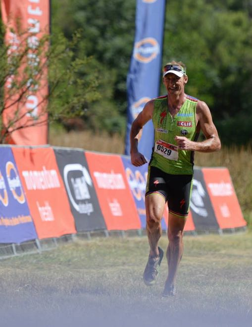 Conrad Stoltz Caveman wins DualX#1 Hakahana run Specialized, Hoka, Suunto, ClifBar, Oakley, SuperSport Momentum Health OatWell DualX powered by PeptoPro Dual1 Hakahana 2015-6160