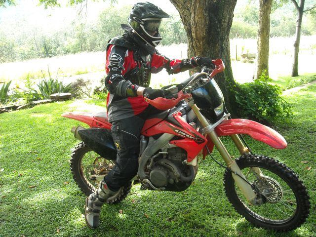 conrad stoltz Caveman Honda CRF450 ATGATT Enduro