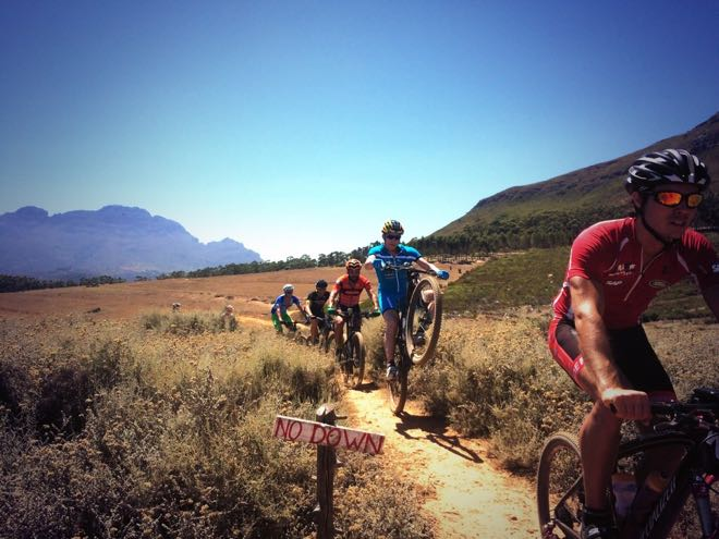 Riding G-spot Stellenbosch with Roger Serrano, Jim Thijs , conrad Stoltz & friends