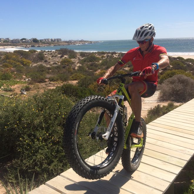 Conrad Stoltz Fatboy Fatbike Wheelie Specialized
