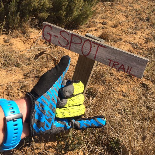 Conrad Stoltz Gspot trail Stellenbosch Suunto Ambit3 Specialized XC Lite glove