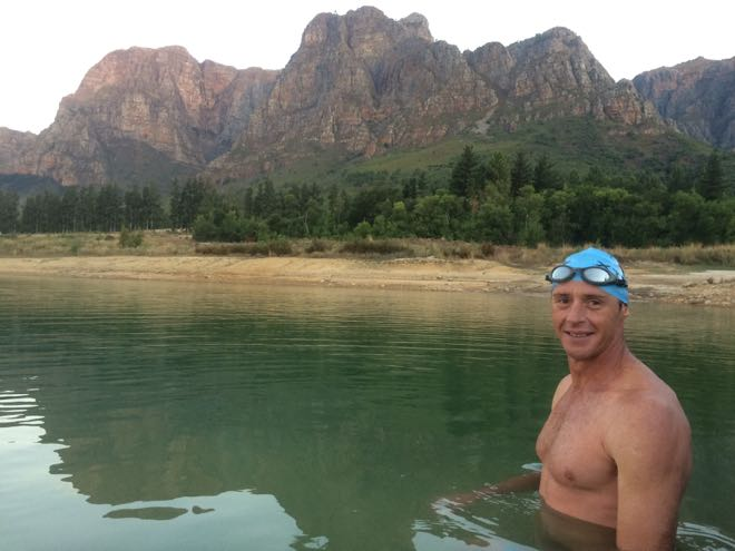 Conrad Stoltz open water swim