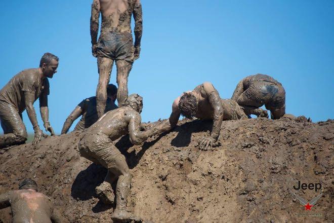 Conrad Stoltz Caveman Warrior Black Ops Elite mud monster 1