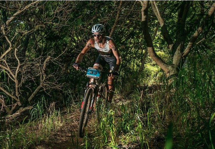 Paco Serrano XTERRA Worlds 2015 no saddle