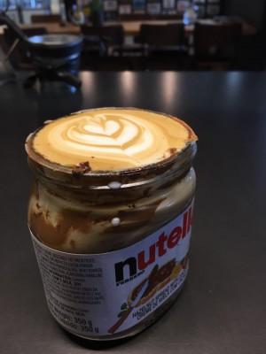 CavemanCafe Nutella Latte, Wian David Slabbert, Conrad Stoltz, Caveman