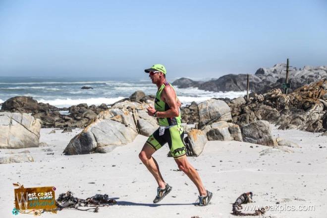 Conrad Stoltz Caveman Westcoast Warm Water Weekend Triathlon Specialized Shiv, Sworks McLaren TT helmet, Squirt lube, Suunto Ambit3, ClifBar, Oakley, LOOK pedals, Langebaan lagoon,Altra Running, Lone Leak 2.5